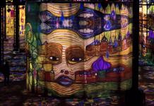 Atelier des lumières à Paris