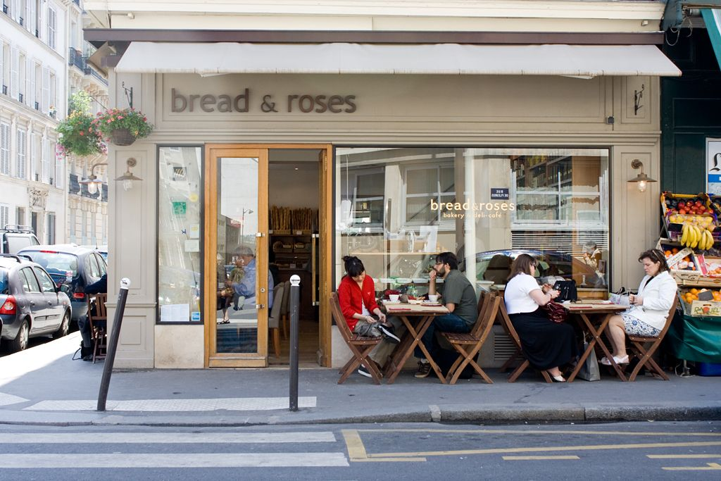 Bread And Roses Outside View