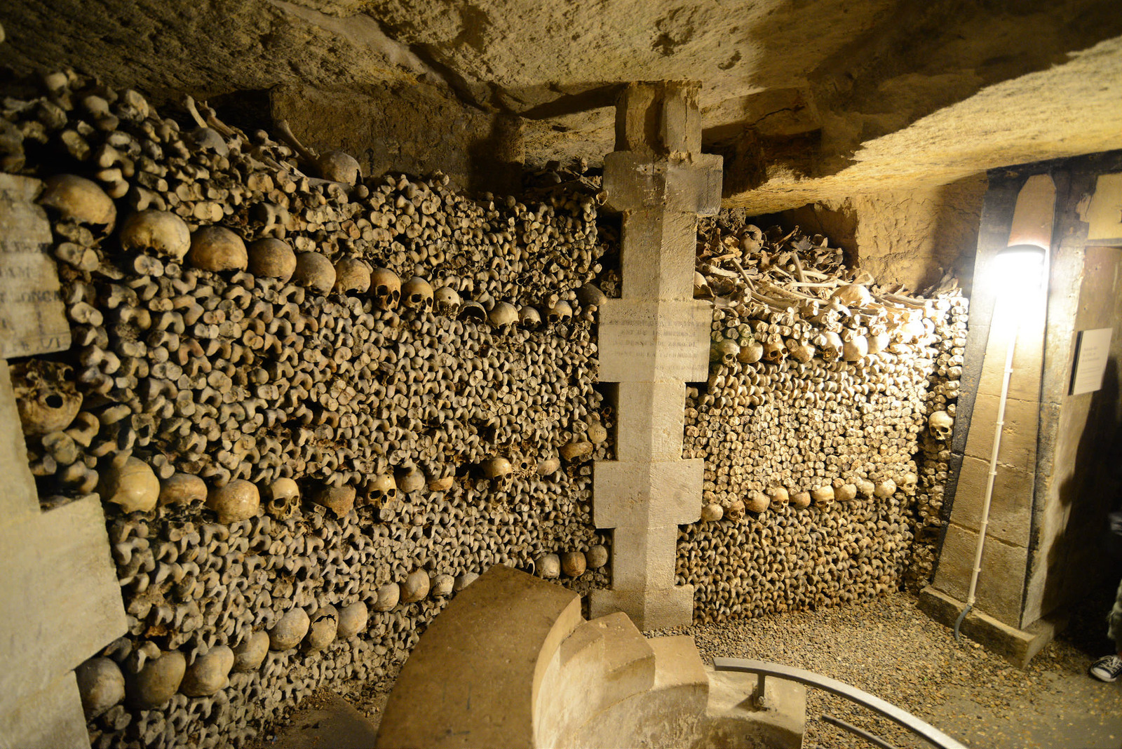 Catacombes of Paris Inside Wall
