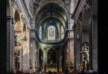 Mengunjungi gereja Saint Sulpice Paris