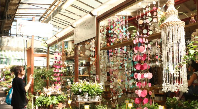 Marché Aux Fleurs In Paris