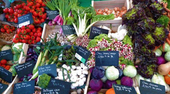 Marché Bio Raspail Veggies