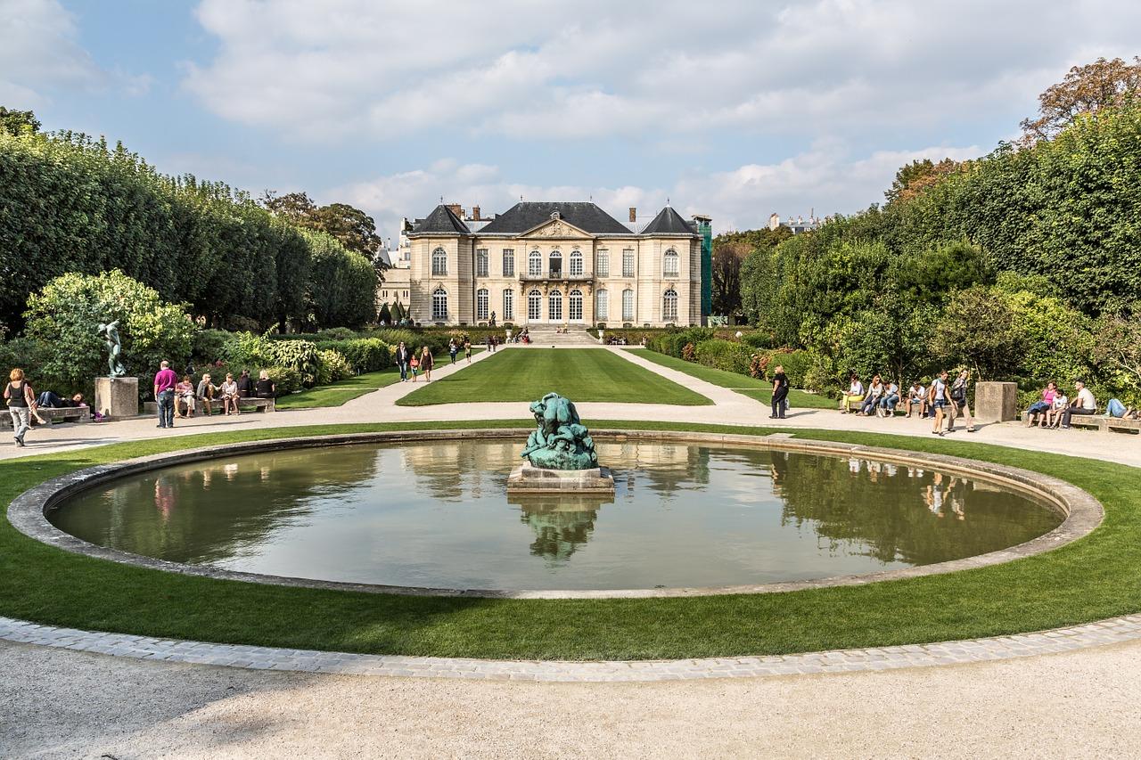 Musée Rodin Garden View