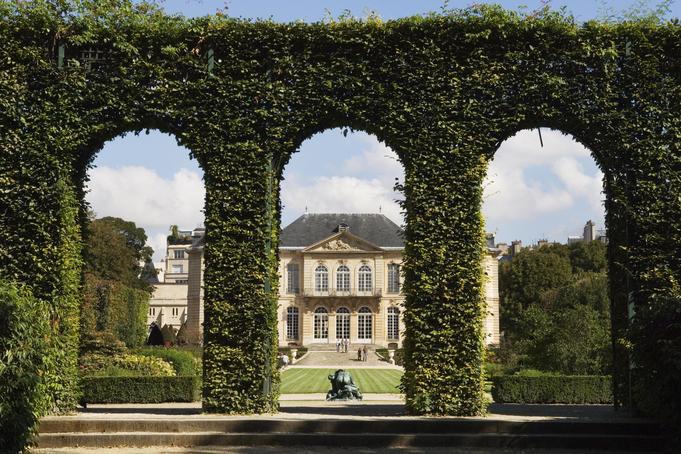 Musée Rodin Vegetal Wall