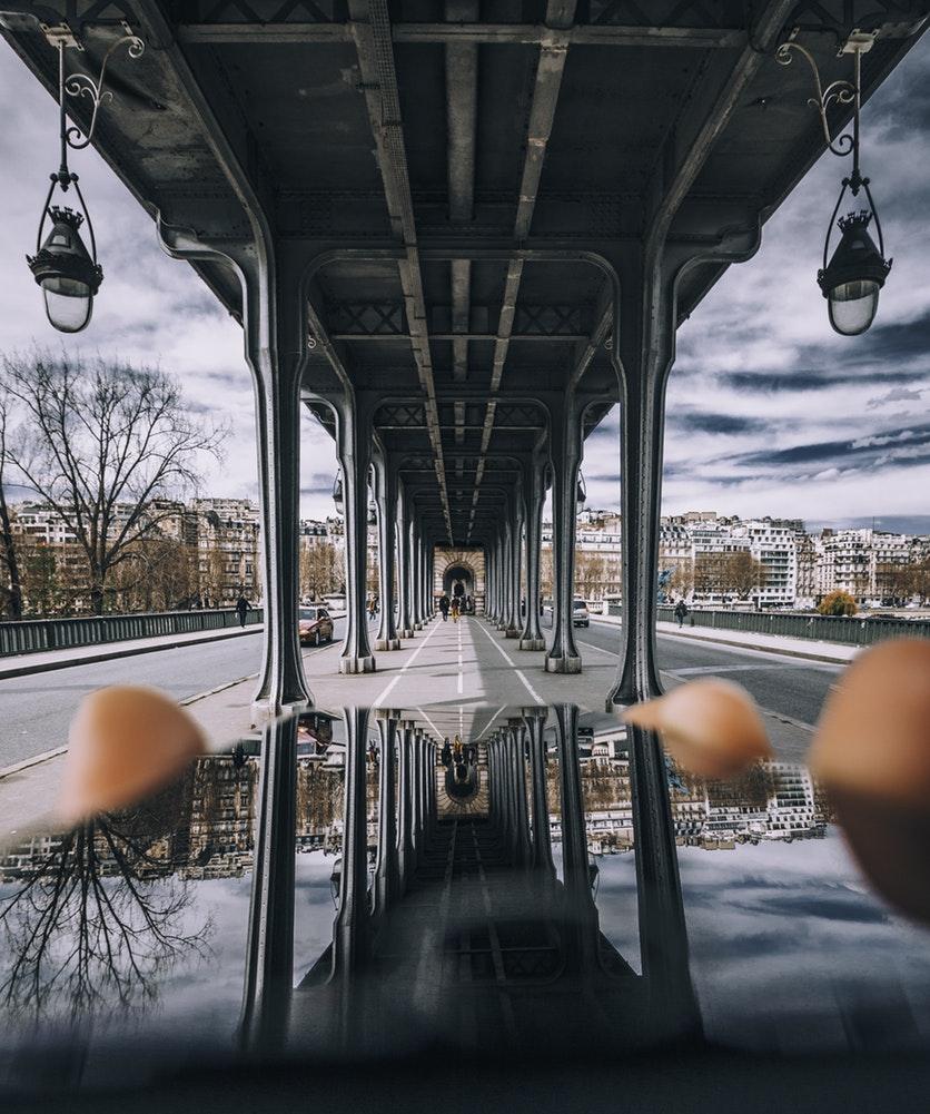 Pont De Bir Hakeim View From Under