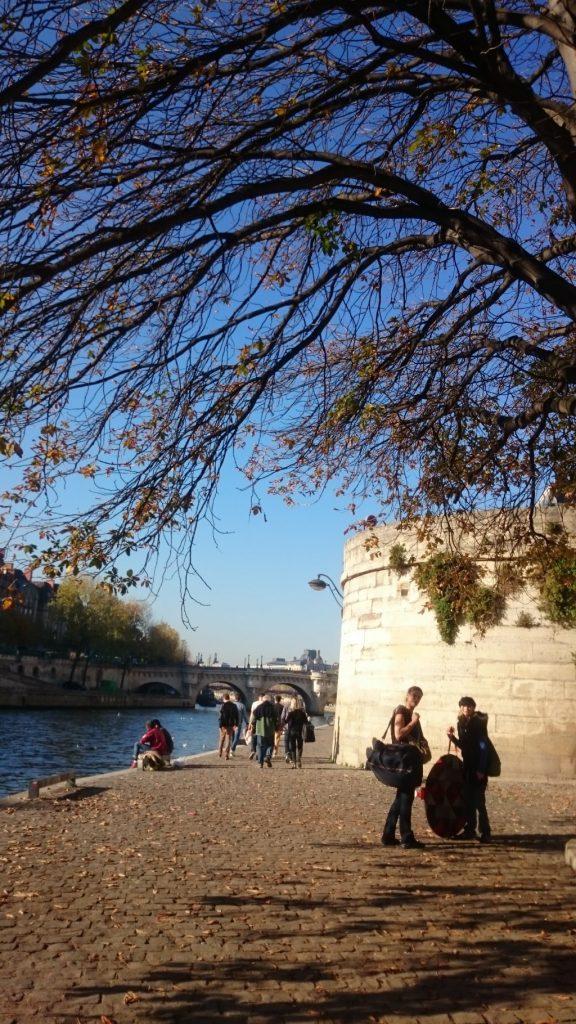 Quai de Seine in Paris