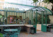 Restaurant of the Museum de la vie romantique