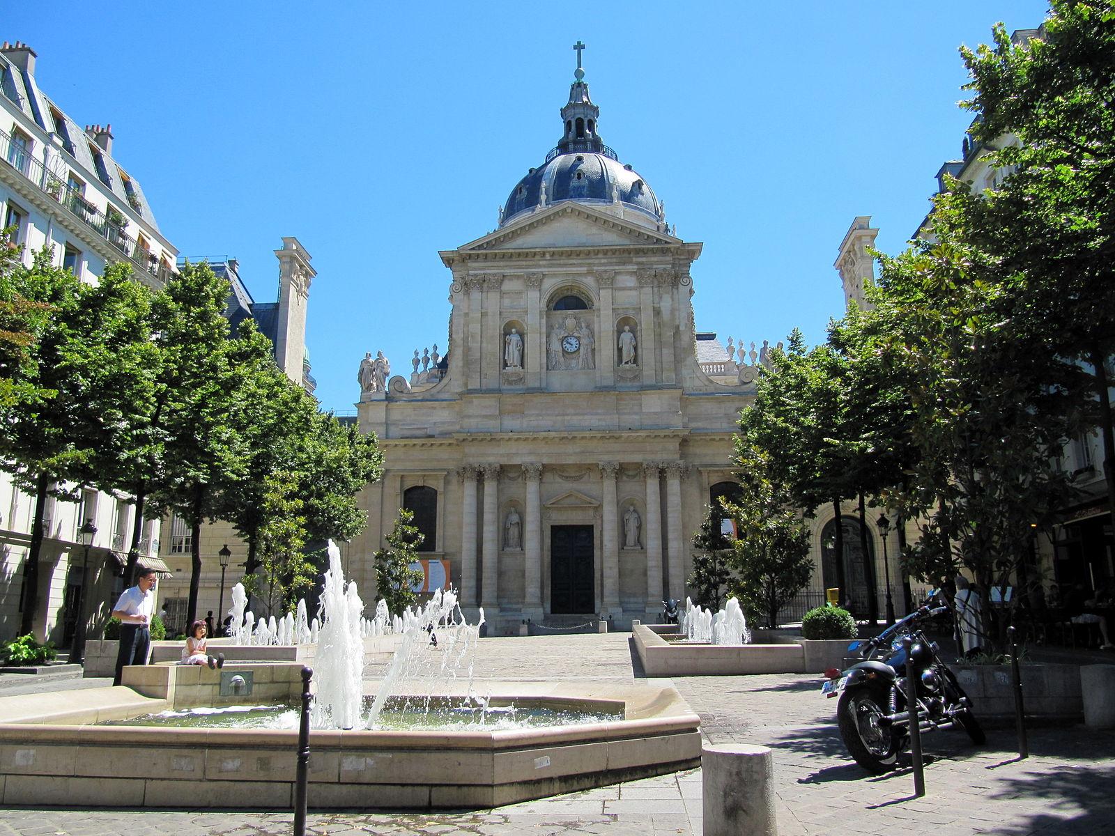 Sorbonne Inside View