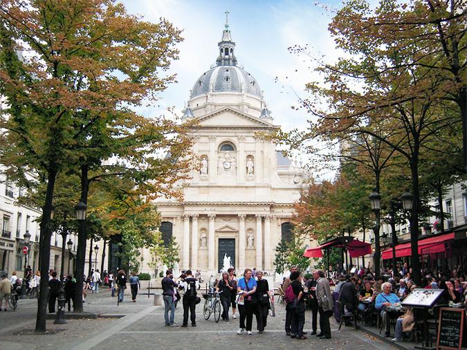 Sorbonne Front View