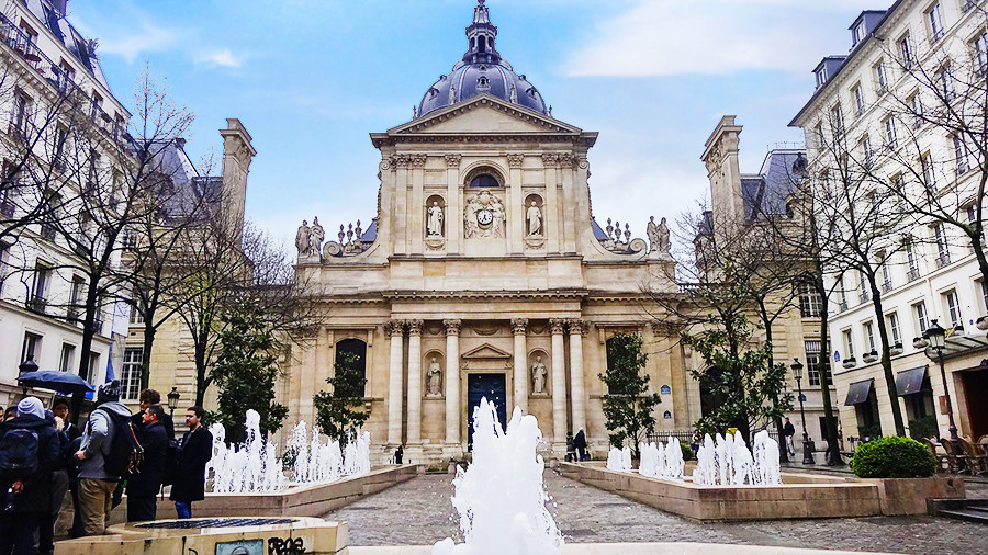 Sorbonne Fountains