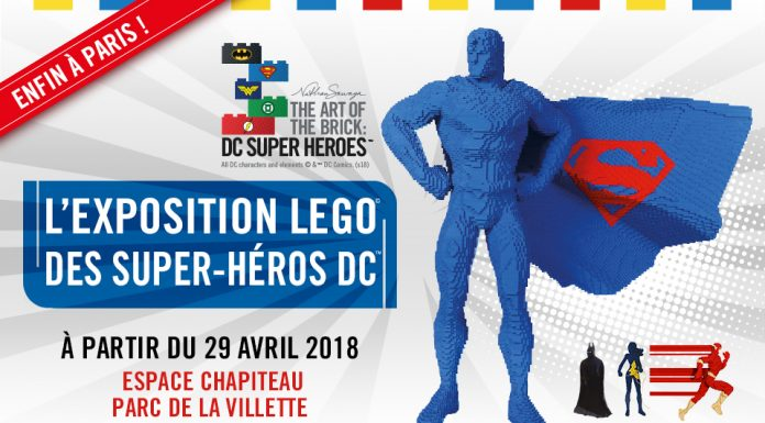 Super Heroes Lego la Vilette