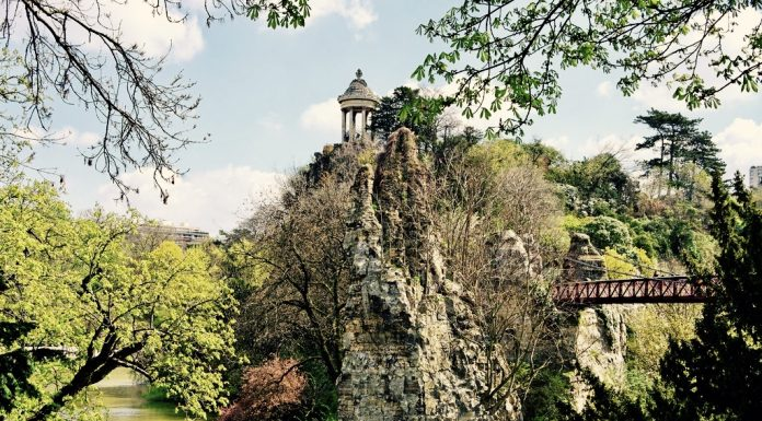 The Buttes Chaumont Footbridge
