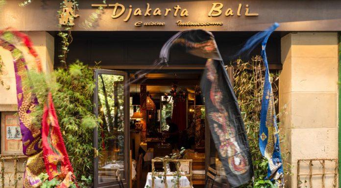 Indonesian Restaurant Djakarta Bali in Paris