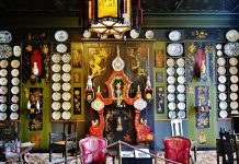 Salon Chinois of Victor Hugo House