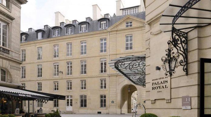 Hotel Paris di tengah kota bintang 5