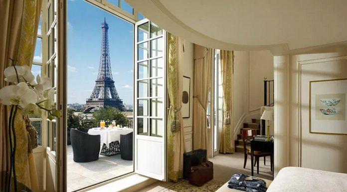 Hotel Paris Palace dekat Menara Eiffel