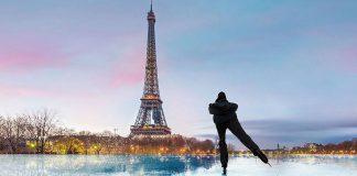 Aktivitas musim dingin di Paris
