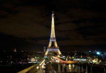 Eiffel Tower Nigh View Jalan Jalan In Paris