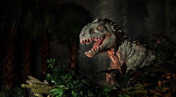 Jurassic World Exhibition Paris