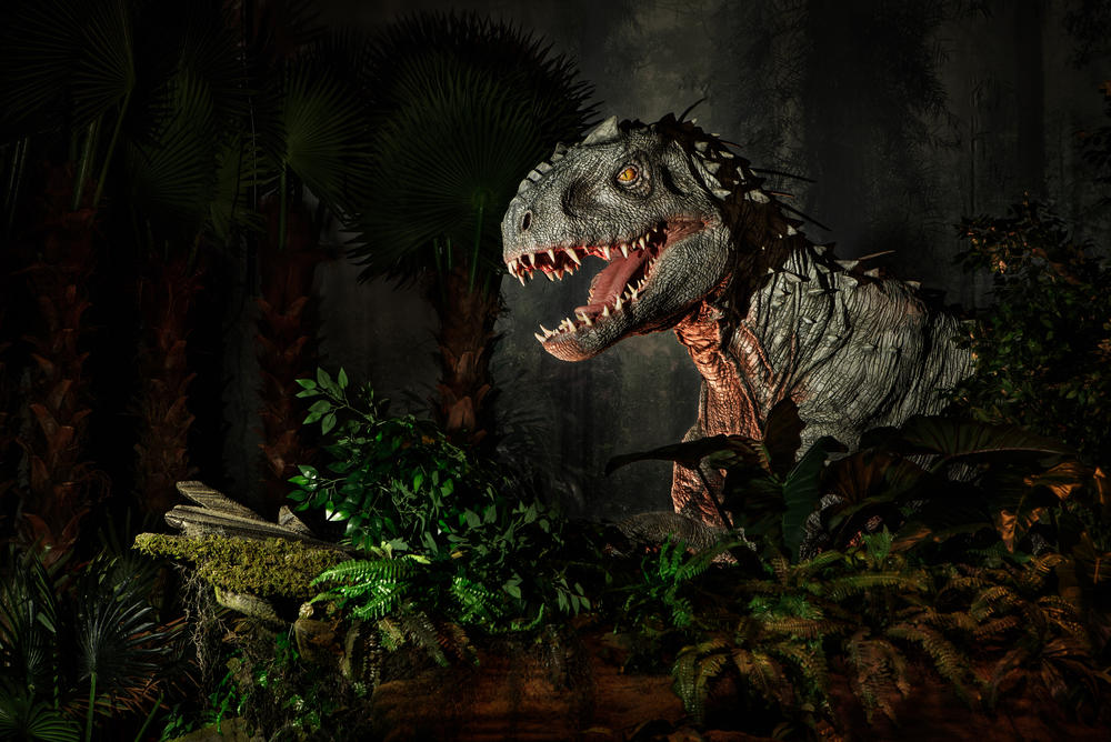 Jurassic World Exhibition Paris
