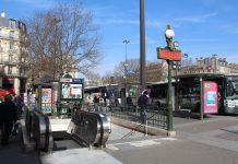 Entrée Métro Bastille Paris 6